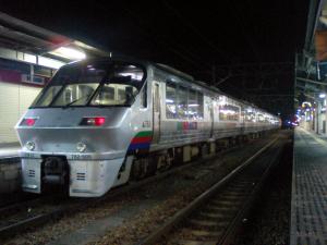 ドリームにちりん (C)Hisagi (http://commons.wikimedia.org/wiki/File:JR_Kyushu_783_Dream_Nichirin_1.png?uselang=jaから転載)