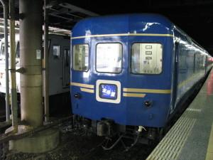 数少ない「ブルートレイン」北斗星 (C) JP Rail