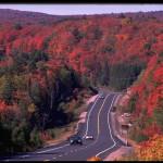 アルゴンキン州立公園付近にて(C) Tourism Ontario