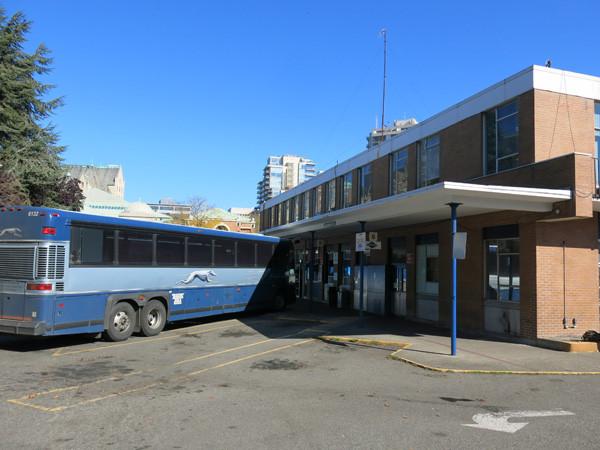 ビクトリアのバスステーション