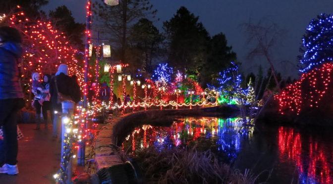 100万個以上のクリスマスイルミネーション!バンクーバー・バンデューセン植物園のフェスティバル・オブ・ライツ