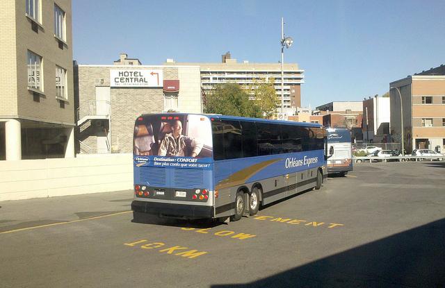 モントリオール~ケベック間の移動。バスと鉄道を比較