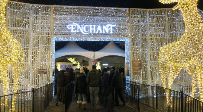 バンクーバーの新しいライトアップイベント、Enchant(エンチャント)