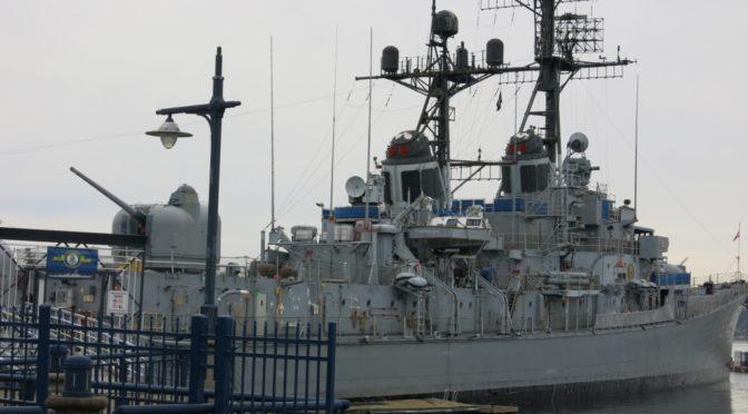 タコマ旅行記2 USS ターナージョイ退役記念艦