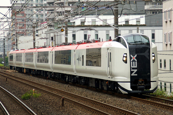 New train E259 series Narita Express