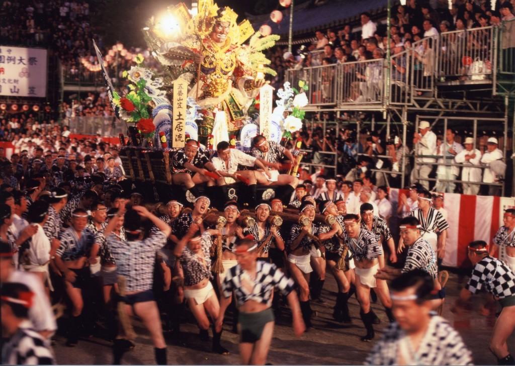 Yamakasa Festival in Hakata