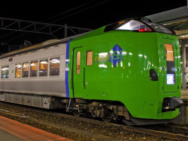 Limited Express Hakucho connect Honshu island with Hokkaido island.