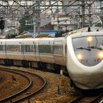 Access to Kanazawa from Osaka and Kyoto. Limited Express Thuderbird