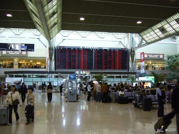Narita Airport departure floor © Y.Shimizu/© JNTO