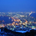 Night view form Hakodate mountain (C) Hokkaido Tourism Organization / JNTO