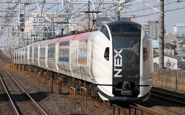 E259 series is the fleet for Narita Express.