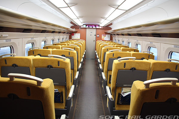 Common ordinary car interior (C) Sonic Rail Garden