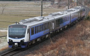 Some of Resort Shirakami are operated by the newest Hybrid train.