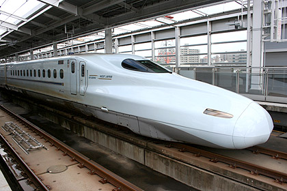 N700 series was introduced for Mizuho and Sakura when Kyushu Shinkansen was completed. (C) Sonic Rail Garden