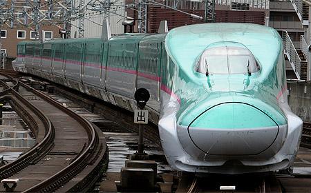 More E5 series will be introduced for Hayabusa, Hayate and Yamabiko. (C) Sonic Rail Garden