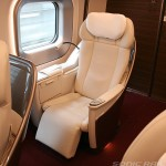 Gran class and all class seat of Tohoku Shinkansen E5 series and Gran class for Hayabusa, Hayate and Yamabiko image gallery