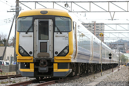 Limited Express Wakashio by newer E257 series (C) Sonic Rail Garden