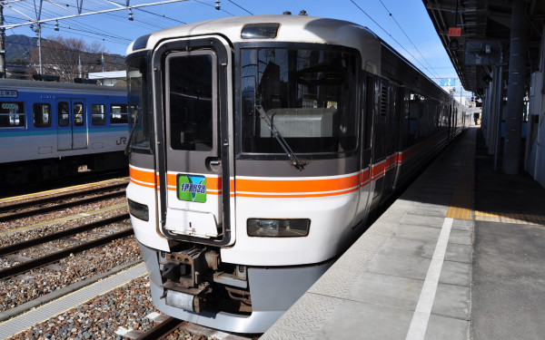 Limited Express Inaji is operated by JR Central 373 series.