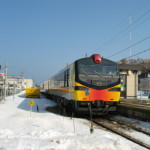 Trip to Tohoku and Nagano in 2013 winter – Part 4, from Akita to Hirosaki by Resort Shirakami