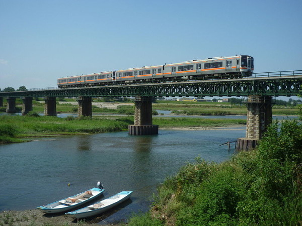 Rapid train Mie goes on Sangu line to Toba and Ise-shi.