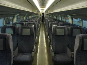 Ordinary class has very common seat and not bad. (C) JP Rail