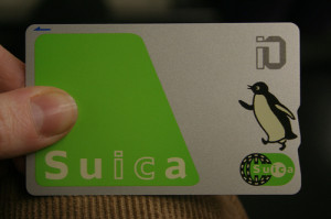 Suica is one of most convenient IC card in Japan. (C) suica card by bitmask