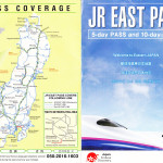 JR East Pass. Flex 5 days unlimited travel within 14 days in Eastern Japan.