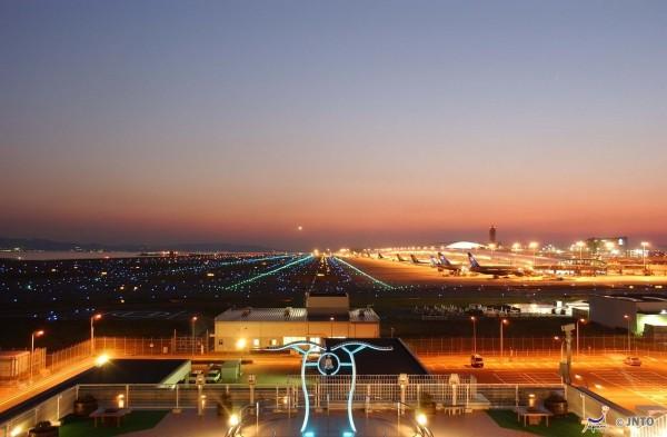 Kansai airport is a manmade island.  Ltd/©JNTO