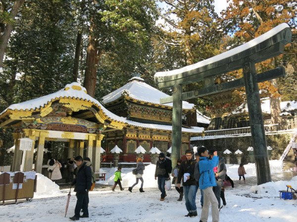 Nikko Toshogu shrine is one of the highlights in Nikko.