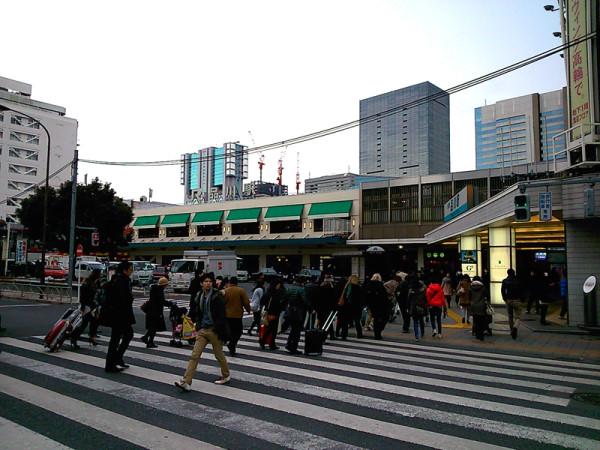 Shinagawa station Takanawa Exit side (C) JP Rail