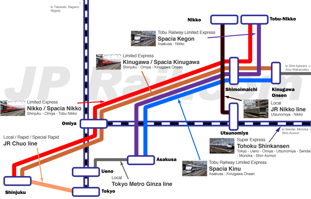 tokyo jr train map with How To Access To Nikko From Tokyo There Are Three Ways From Tokyo Shinjuku And Asakusa on E1248 moreover 1558750 Hnd Tokyo Station further Kyoto in addition File YAMANOTE LINE also Transportation tokyo.