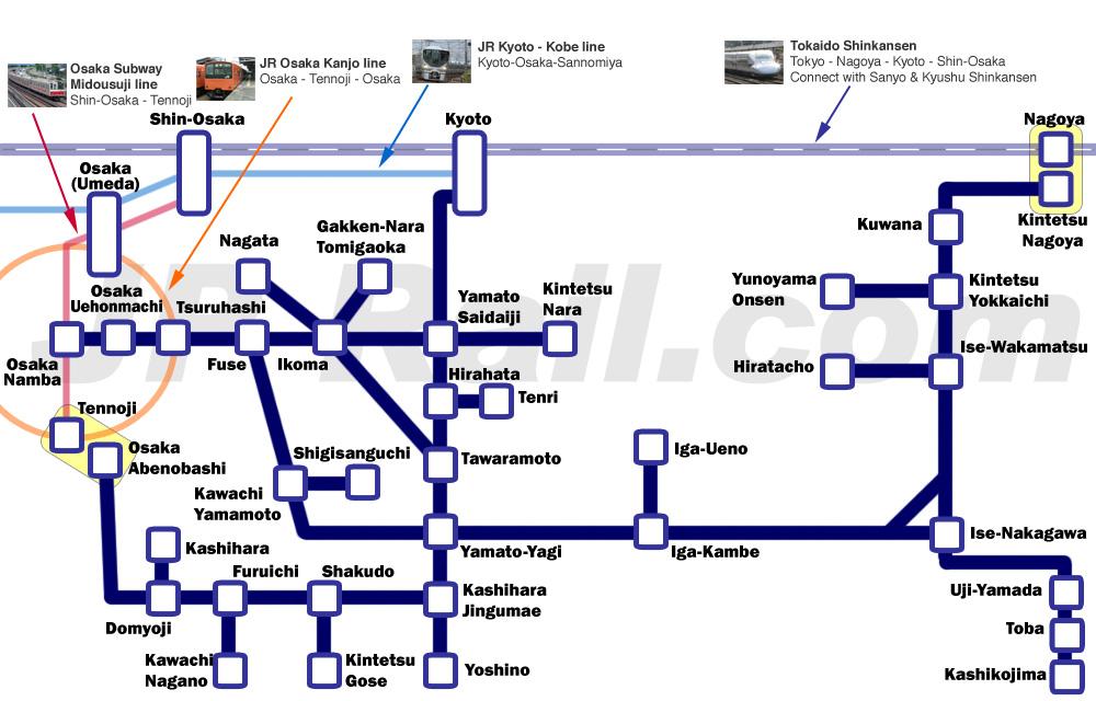 Kintetsu Rail Pass, Most affor...