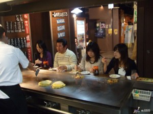 Hiroshima has one of the best Okonomiyaki in Japan!  ©Hiroshima Convention & Visitors Bureau