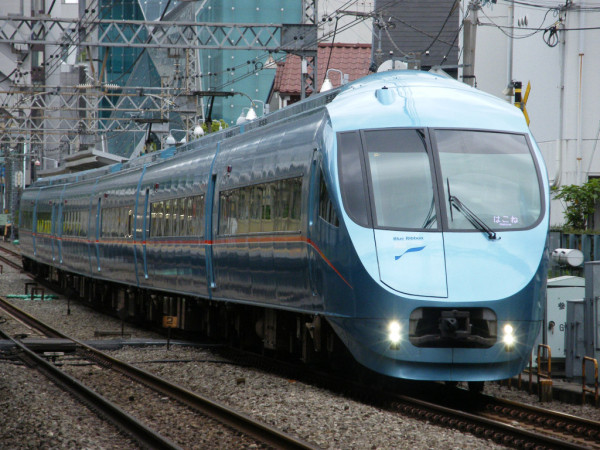 Odakyu Railway operates many limited express train service that is called Romancecar.