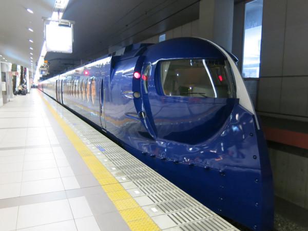 Nankai Railway's Rapi:t has very unique exterior.