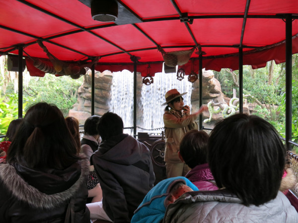 Jungle Cruise is one of classic attractions in Tokyo Disneyland.