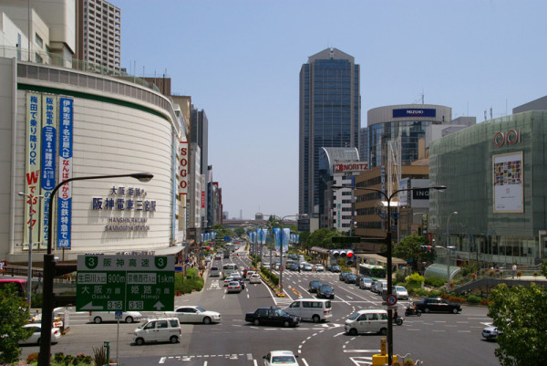 South side of JR Sannomiya station
