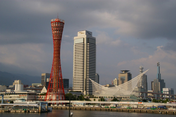 Port Tower is the icon of Kobe.