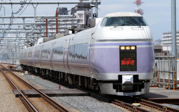 Limited Express Azusa is only train to go to Shinano-Omachi from Tokyo (Shinjuku) directly.