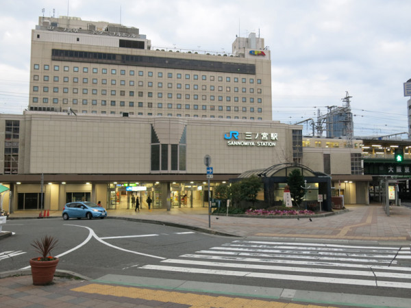 JR Sannomiya station north side