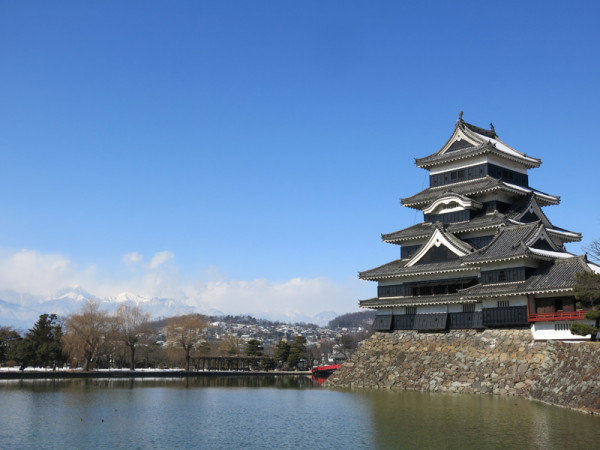 Matsumoto castle is one of four castles which have the original tower.