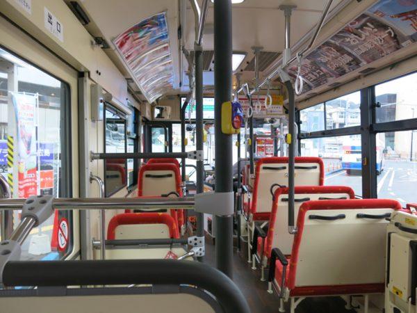 Meipuru-pu has very common city bus accommodation.
