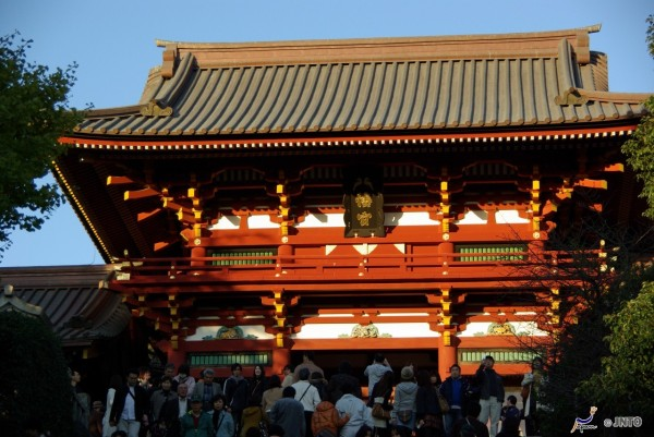 Tsurugaoka Hachimangu shrine is one of Must-See spots in Kamakura. It is located near Kamakura station. (C) Yasufumi Nishi / JNTO