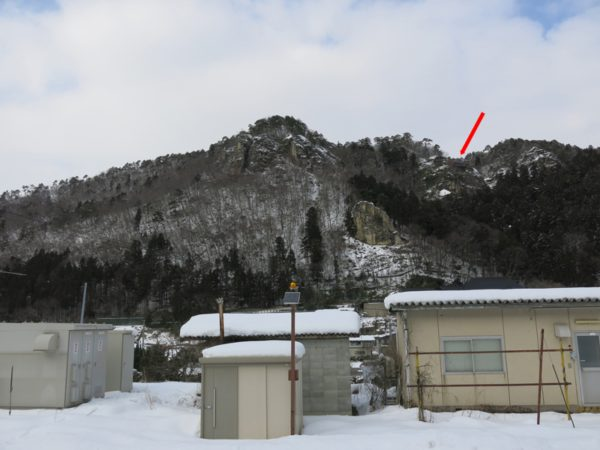 Yamadera means Mountain Temple. This temple is located in the mountain. You can find the temple in the photo above.