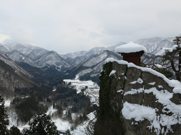 Most famous view of Yamadera