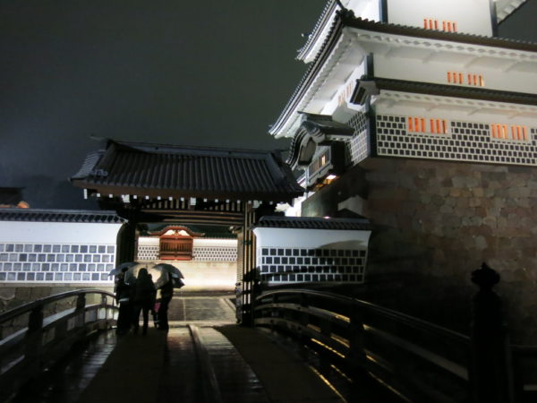 One of the gates of Kanazawa castle
