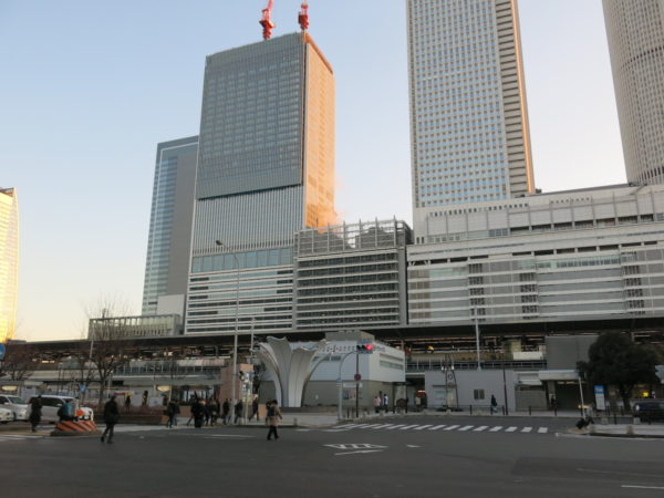 Nagoya station from Taiko-Dori side.