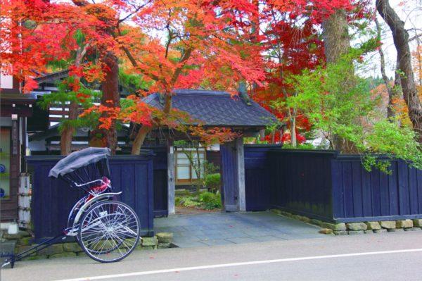 Bukeyashiki (Samurai residence district) in Kakunodate (C) JNTO