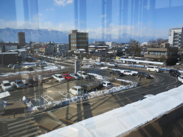 Alps-guchi (west side) of Matsumoto station