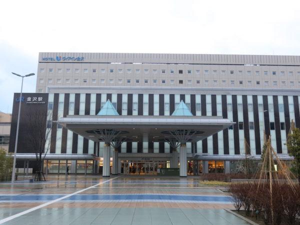 Kanazawa station west side, Kanazawakoguchi